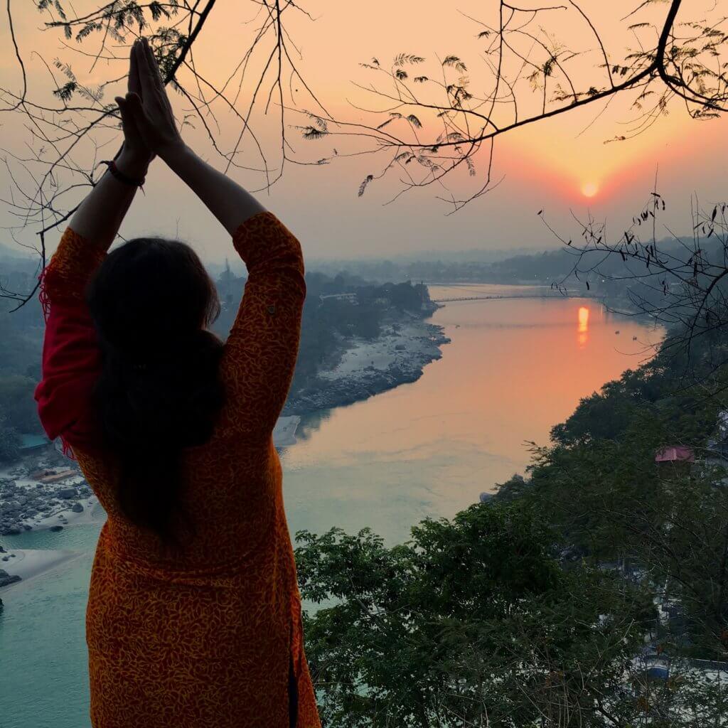Rishikesh_sunset